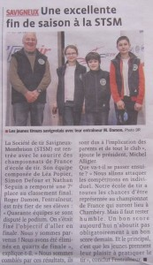 Article Presse Chauray